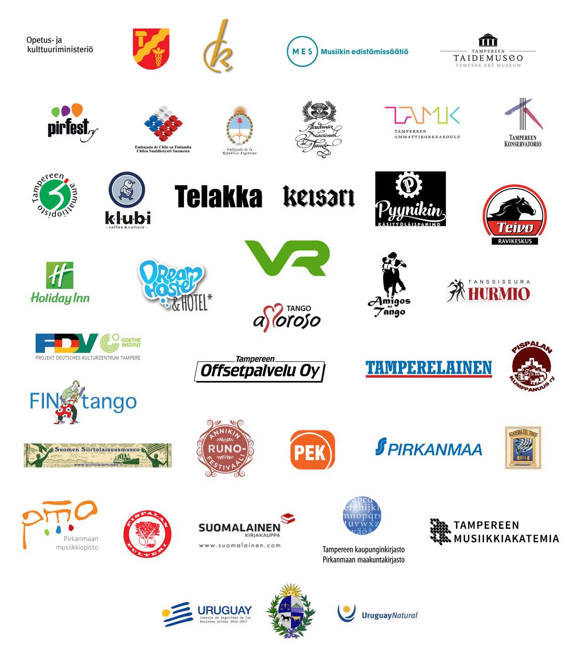 Yhteistyökumppanit 2016